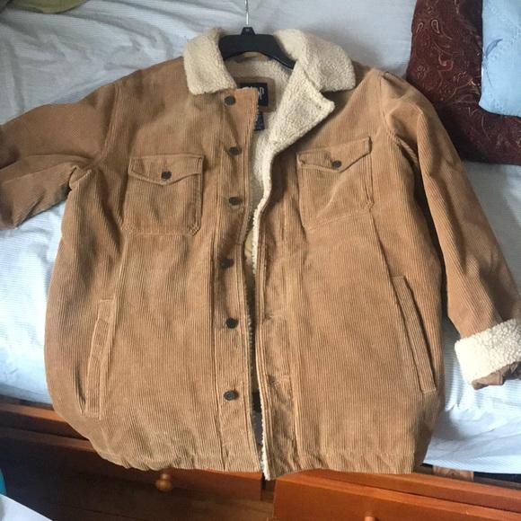 Gap Jackets Coats Brown Corduroy Vintage Sherpa Lined Jacket